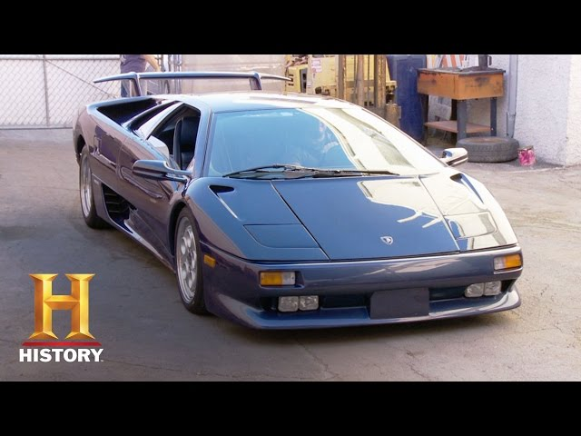 Counting Cars: Bonus: Lambo Lovers | History