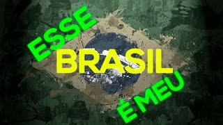 Rap N3 - Esse é meu Brasil (Tipografia)