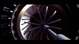 Robotic 3D Intro video No Text Full HD