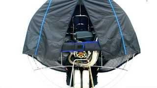 Capa Fina Para Proteção Paramotor / Light Paramotor Cage Cover - SOL Paragliders