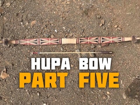 Hupa/Yurok Style Bow (Part 5 Of 6)