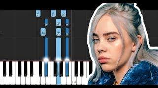Billie Eilish - Wish You Were Gay (Piano Tutorial)