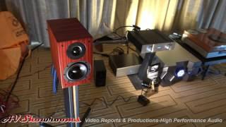 Silverline Audio, Minuet Surpreme Plus $700, huge sound, small speaker, THE Show Newport 2016