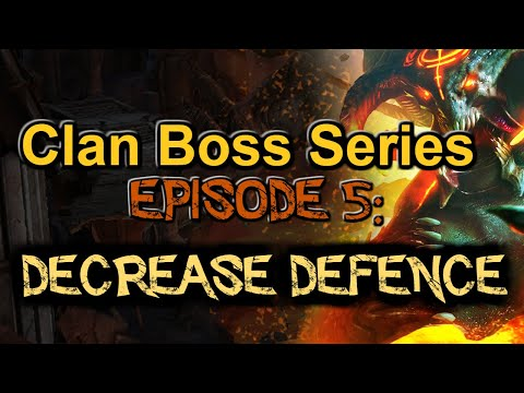 RAID: Shadow Legends | CLAN BOSS SERIES EPISODE 5, BEST CHAMPIONS FOR DECREASE DEF & WHEN TO USE IT!