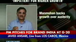 India's growth will get back on track  PM Manmohan Singh