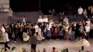 Táncháztalálkozó 2008 Örkői cigánytánc tanítás (legények)