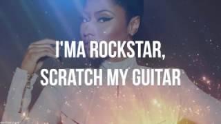 Nicki Minaj - Froze (Verse - Lyric Video) (Clean Version)