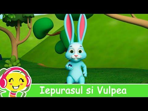 Iepurasul si Vulpea - Cantec pentru copii