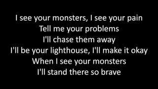 Timeflies - Monsters ft Katie Sky Lyrics
