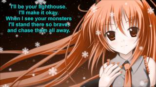 Nightcore - I see your monsters (+Lyrics/HD]
