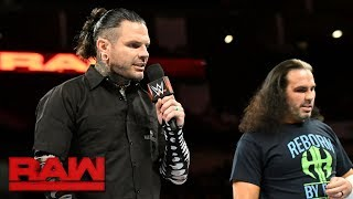 """Have The Hardy Boyz become """"obsolete""""?: Raw, July 10, 2017"""