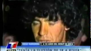 MARADONA TENIA LA ILUSION DE IR A RIVER