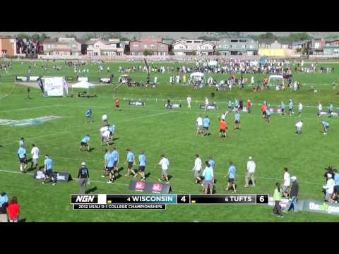 Video Thumbnail: 2012 College Championships, Men's Quarterfinal: Wisconsin vs. Tufts