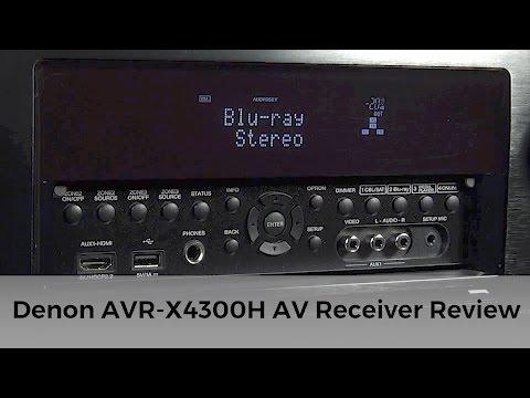 Denon AVR-X4300 Dolby Atmos AV Receiver Review