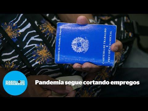 Brasil: retração de 331 mil postos de trabalho
