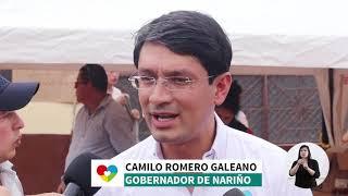 Informe Semanal Número 180 Gobernación de Nariño