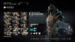 For Honor - Conqueror Season 5 Gear and Weapons