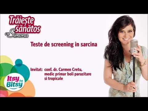 Teste de screening in sarcina