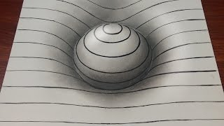 Drawing Easy 3D Sphere with lines