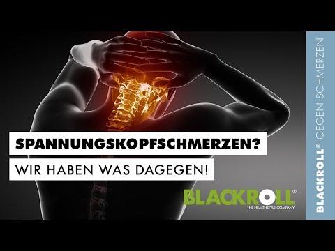 BLACKROLL® gegen Spannungskopfschmerz