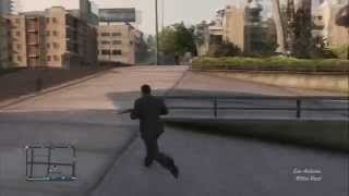 GTA 5 online cowardly running lol/cobardemente corriendo xD