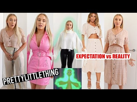 PRETTYLITTLETHING WE MEET AGAIN... TRY ON HAUL