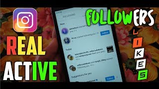 How to get unlimited real instagram followers like comment 2019