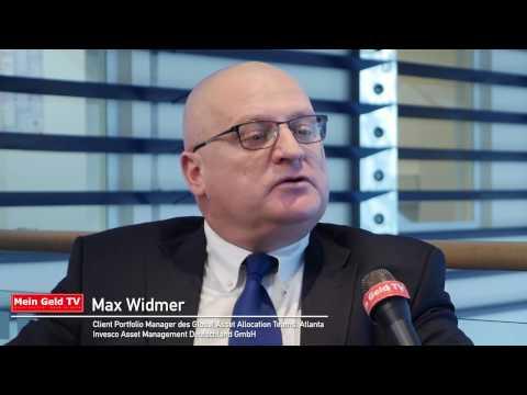 """Invesco Asset Management: Max Widmer zum Thema """"Anlagestrategien"""""""