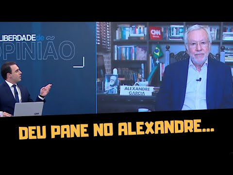 ALEXANDRE GARCIA ESTÁ SE BORRANDO, DIZ FELIPE NETO!