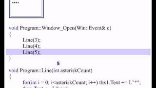 Computer program function (passing parameters)