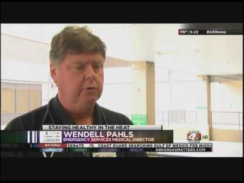 Dr. Wendell Pahls Talks Heat Illnesses
