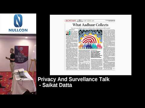 Privacy and Surveillance Talk