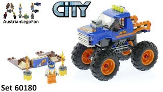 Lego City 60180 Monster Truck - Lego Speed Build Review