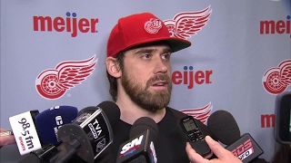 Zetterberg: Closing down the Joe more special than my 1000th game