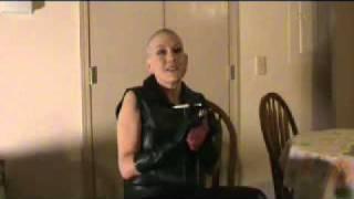 Mistress Gigi's Headshave and Bald smoking video PREVIEWS