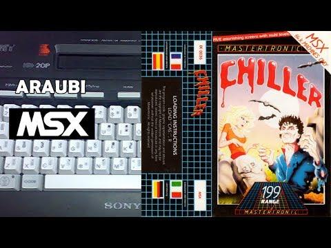 Chiller (Mastertronic, 1985) MSX [467] Walkthrough
