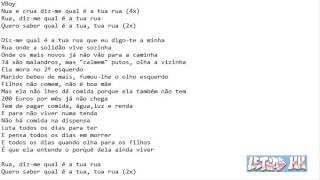 VBoy feat Dillaz - Qual é a Tua Rua? (Letra)