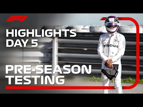 2020 Pre-Season Testing: Day 5 Highlights