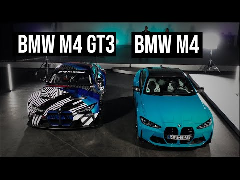 BMW M4 meets the BMW M4 GT3 | Design Overview