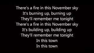 November Sleeping With Sirens (Lyrics)