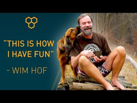 "Wim Hof: ""This is how I have fun!"""