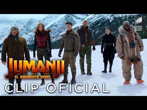 JUMANJI: SIGUIENTE NIVEL. Un mayor desafío. En cines 13 de diciembre.