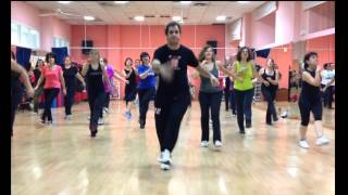 "Merengue ""El baile del reloj""  (CoreoFitness MundoGuyi)"