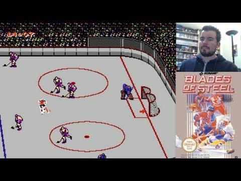BLADES OF STEEL (NES) - El hockey sobre hielo de Konami    Gameplay en Español