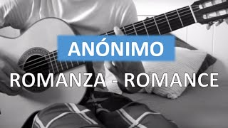 NUEVO COVER EN LA DESCRIPCIÓN - Romanza Guitarra clásica