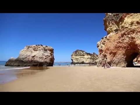 Portimao på Algarve har noen av Europas vakreste strender