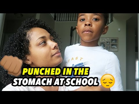 PUNCHED IN THE STOMACH AT SCHOOL!