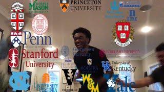 College Decision Reactions 2019(Brown, Columbia, Cornell, Yale, Duke, Princeton, Upenn, Harvard)