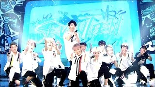 [Hot Debut] 세븐틴(SEVENTEEN) - 아낀다(Adore U) @인기가요 Inkigayo 20150531