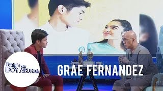 TWBA: Grae Fernandez clears something about him and Andrea Brillantes